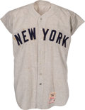 Baseball Collectibles:Uniforms, 1960 Roger Maris Game Worn New York Yankees Jersey, MEARS A7.5....