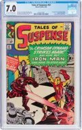 Silver Age (1956-1969):Superhero, Tales of Suspense #52 (Marvel, 1964) CGC FN/VF 7.0 Off-white to white pages....