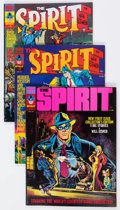 Magazines:Superhero, The Spirit Group of 10 (Warren, 1974-76) Condition: Average FN+....(Total: 10 Comic Books)