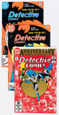Modern Age (1980-Present):Superhero, Detective Comics Group of 89 (DC, 1980-89) Condition: AverageNM-.... (Total: 89 Comic Books)