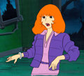 Animation Art:Production Cel, The 13 Ghosts of Scooby-Doo Daphne Production Cel(Hanna-Barbera, 1985)....