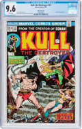 Bronze Age (1970-1979):Adventure, Kull the Destroyer #12 White Mountain Pedigree (Marvel, 1973) CGC NM+ 9.6 White pages....