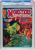 Magazines:Horror, Monsters of the Movies #2 White Mountain Pedigree (Marvel, 1974) CGC NM+ 9.6 White pages....