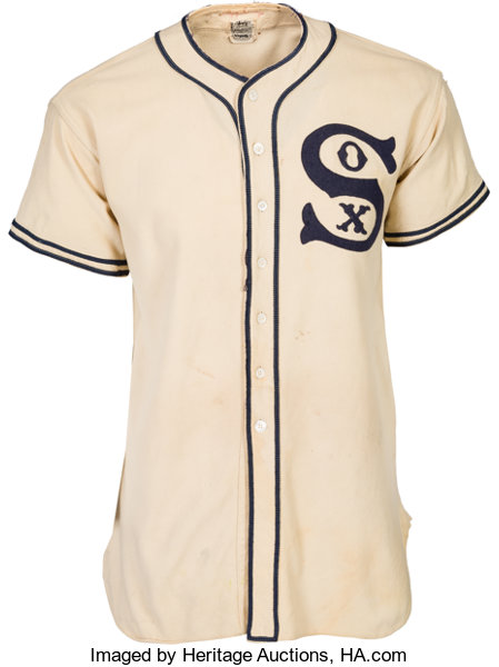 the best attitude c6f23 6121c 1937 Luke Appling Game Worn Chicago White Sox Jersey ...