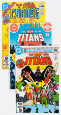 Modern Age (1980-Present):Superhero, New Teen Titans-Related Group of 48 (DC, 1980s) Condition: AverageNM-.... (Total: 48 Comic Books)