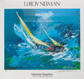 Autographs:Others, LeRoy Neiman Signed Poster. ...