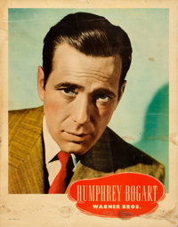 Humphrey Bogart Personality Poster & Other Lot (Warner Brothers, Late 1940s). Linen Finish Personality Posters (2) (...