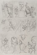 Original Comic Art:Miscellaneous, Bernie Wrightson Swamp Thing #3 Page 22 Preliminary ArtworkOriginal Art (DC, 1973)....
