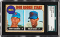 Baseball Cards:Singles (1960-1969), 1968 Topps Nolan Ryan - Mets Rookie Stars #177 SGC 88 NM/MT 8....
