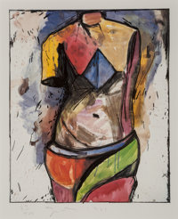 Jim Dine (b. 1935) The Colorful Venus, 1985 Lithograph in colors 23-1/4 x 19-3/8 inches (59.1 x 4