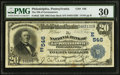 National Bank Notes:Pennsylvania, Philadelphia, PA - $20 1902 Date Back Fr. 642 The NB of Germantown Ch. # (E)546. ...