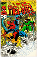 Modern Age (1980-Present):Superhero, Official Marvel Comics Try-Out Book #1 (Marvel, 1983) Condition: FN+....