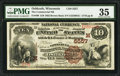 National Bank Notes:Wisconsin, Oshkosh, WI - $10 1882 Brown Back Fr. 490 The Commercial NB Ch. # (M)5557. ...