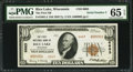 National Bank Notes:Wisconsin, Rice Lake, WI - $10 1929 Ty. 2 The First NB Ch. # 6663 Replacement. ...
