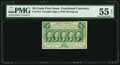 Fractional Currency:First Issue, Fr. 1312 50¢ First Issue PMG About Uncirculated 55 EPQ.. ...