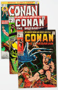 Bronze Age (1970-1979):Adventure, Conan the Barbarian Group of 41 (Marvel, 1971-79) Condition: Average FN.... (Total: 41 Comic Books)