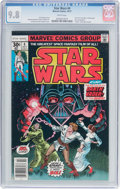 Bronze Age (1970-1979):Science Fiction, Star Wars #4 (Marvel, 1977) CGC NM/MT 9.8 White pages....