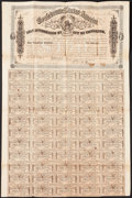 Confederate Notes:Group Lots, Ball 303 Cr. 142A $100 Bond 1864 Fine. . ...