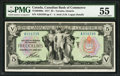 Canadian Currency: , Toronto, ON- The Canadian Bank of Commerce $5 Jan. 2, 1917 Ch. #75-16-04-06a.. ...