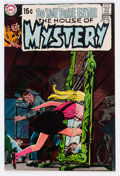 Bronze Age (1970-1979):Horror, House of Mystery #182 (DC, 1969) Condition: VF/NM....