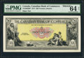 Canadian Currency: , Toronto, ON- The Canadian Bank of Commerce $20 Jan. 2, 1917 Ch. #75-16-02-08P Face Proof.. ...