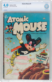 Atomic Mouse #1 (Charlton, 1953) CBCS VG 4.0 Cream to off-white pages