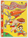 Golden Age (1938-1955):Cartoon Character, Looney Tunes and Merrie Melodies Comics #14 Star Variant (Dell, 1942) Condition: VG/FN....
