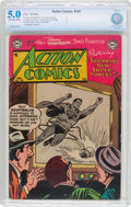Golden Age (1938-1955):Superhero, Action Comics #187 Married Centerfold (DC, 1953) CBCS VG/FN 5.0 Off-white to white pages....