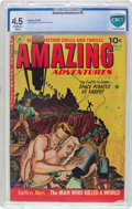 Golden Age (1938-1955):Science Fiction, Amazing Adventures #6 (Ziff-Davis, 1952) CBCS VG+ 4.5 Off-white towhite pages....