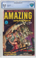 Golden Age (1938-1955):Science Fiction, Amazing Adventures #3 (Ziff-Davis, 1951) CBCS VG/FN 5.0 Off-whiteto white pages....