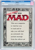 Magazines:Mad, MAD #24 (EC, 1955) CGC VF- 7.5 Off-white to white pages....