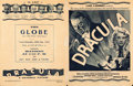 """Movie Posters:Horror, Dracula (Universal, 1931). Herald (Folded: 8.25"""" X 10.5"""", Unfolded:10.5"""" X 16.5"""").. ..."""