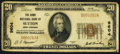 National Bank Notes:West Virginia, Sutton, WV - $20 1929 Ty. 1 The Home NB Ch. # 9604. ...