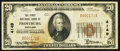 National Bank Notes:Maryland, Frostburg, MD - $20 1929 Ty. 1 The First NB Ch. # 4149. ...