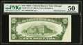Error Notes:Foldovers, Fr. 2011-G* $10 1950A Federal Reserve Note. PMG About Uncirculated 50.. ...