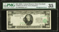 Error Notes:Shifted Third Printing, Fr. 2060-D $20 1950A Federal Reserve Note. PMG Choice Very Fine 35.. ...