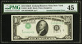 Error Notes:Inverted Third Printings, Fr. 2011-B $10 1950A Federal Reserve Note. PMG Choice ExtremelyFine 45.. ...