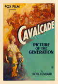 "Movie Posters:Academy Award Winners, Cavalcade (Fox, 1933). One Sheet (27"" X 41"").. ..."