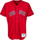"""Baseball Collectibles:Uniforms, 2004 David Ortiz Game Worn Boston Red Sox Alternate Jersey with """"Game Use '04"""" Inscription. ..."""