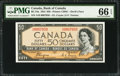Canadian Currency: , BC-34a $50 1954 Devil's Face.. ...