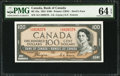 Canadian Currency: , BC-35a $100 1954 Devil's Face.. ...