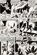 Original Comic Art:Panel Pages, Wally Wood Astonishing Tales #2 Story Page 8 Doctor DoomOriginal Art (Marvel, 1970)....
