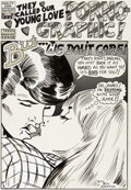 Original Comic Art:Splash Pages, Bill Griffith Young Lust #1 Splash Page Original Art (Company and Sons, 1970)....