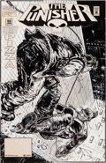 Original Comic Art:Covers, Frank Teran Punisher #98 Cover Original Art (Marvel,1995)....