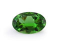 Gems:Faceted, Gemstone: Chrome Tourmaline - 1.2 cts.. East Africa. 9.2x 6 x 3.7 mm. ...