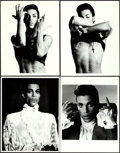"Movie Posters:Rock and Roll, Prince in Under the Cherry Moon by Jeff Katz (Warner Brothers,1986). Portrait Photos (13) (11"" X 14"").. ... (Total: 13 Items)"