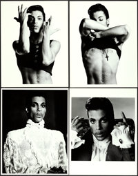 """Prince in Under the Cherry Moon by Jeff Katz (Warner Brothers, 1986). Portrait Photos (13) (11"""" X 14""""). ... (T..."""