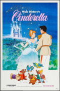 """Movie Posters:Animation, Cinderella (Buena Vista, R-1981/1987). One Sheets (27"""" X 41""""). Animation.. ... (Total: 2 Items)"""