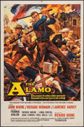 "Movie Posters:Western, The Alamo (United Artists, 1960). One Sheet (27"" X 41""). Western.. ..."