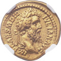 Ancients:Roman Imperial, Ancients: Didius Julianus (AD 193). AV aureus (21mm, 6.52 gm, 6h).NGC Choice VF 5/5 - 4/5....